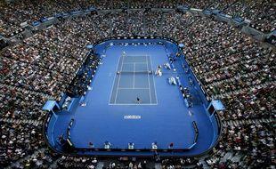 La plupart des rencontres de l'Open d'Australie se déroulent quand il fait nuit en France.