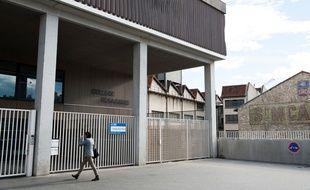 Le collège Rosa Parks, à Marseille, en 2014.