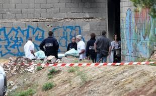 Des policiers marseillais enquêtent après un règlement de comptes (illustration).