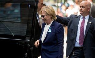 Hillary Clinton à New York, le 11 septembre 2016.