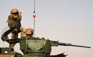 Militaires français pendant l'opération Barkhane.