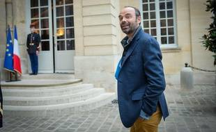 Edouard Philippe à Matignon le 8 octobre 2017.