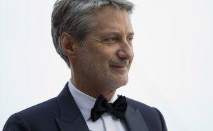 Antoine de Caunes au «Grand Journal» durant le festival de Cannes 2015