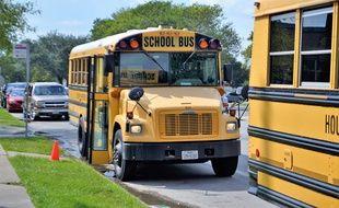 Un bus scolaire aux Etats-Unis (illustration)