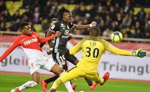 Le match Monaco - Lyon