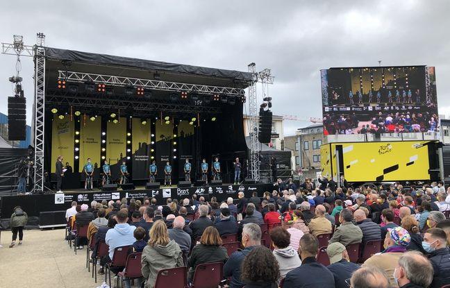La présentation des équipes s'est déroulée jeudi soir au Parc à Chaînes à Brest.