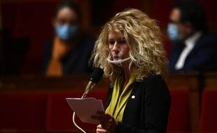 Martine Wonner, à l'Assemblée nationale, le 20 octobre 2020.