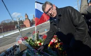Jean-Maurice Ripert , l'ambassadeur de France en Russie, le 28 février 2016, à Moscou.