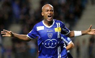 L'attaquant de Bastia Toifilou Maoulida, le 6 octobre 2012, contre Troyes.