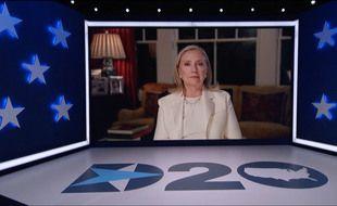 L'intervention d'Hillary Clinton lors de la convention démocrate.