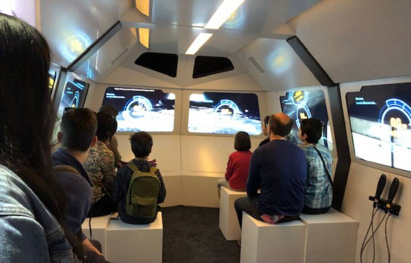 VIDEO. Toulouse: Avec sa nouvelle expo, la Cité de l'espace renvoie l'homme sur la Lune