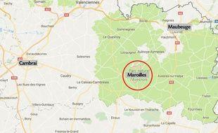 La ville de Maroilles, dans le Nord.