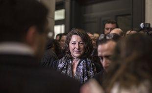 Agnès Buzyn à Paris, dans la soirée du 16 férvier 2020.
