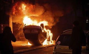 Des incidents se sont produits à Bobigny, samedi soir, après une manifestation de soutien à Théo.