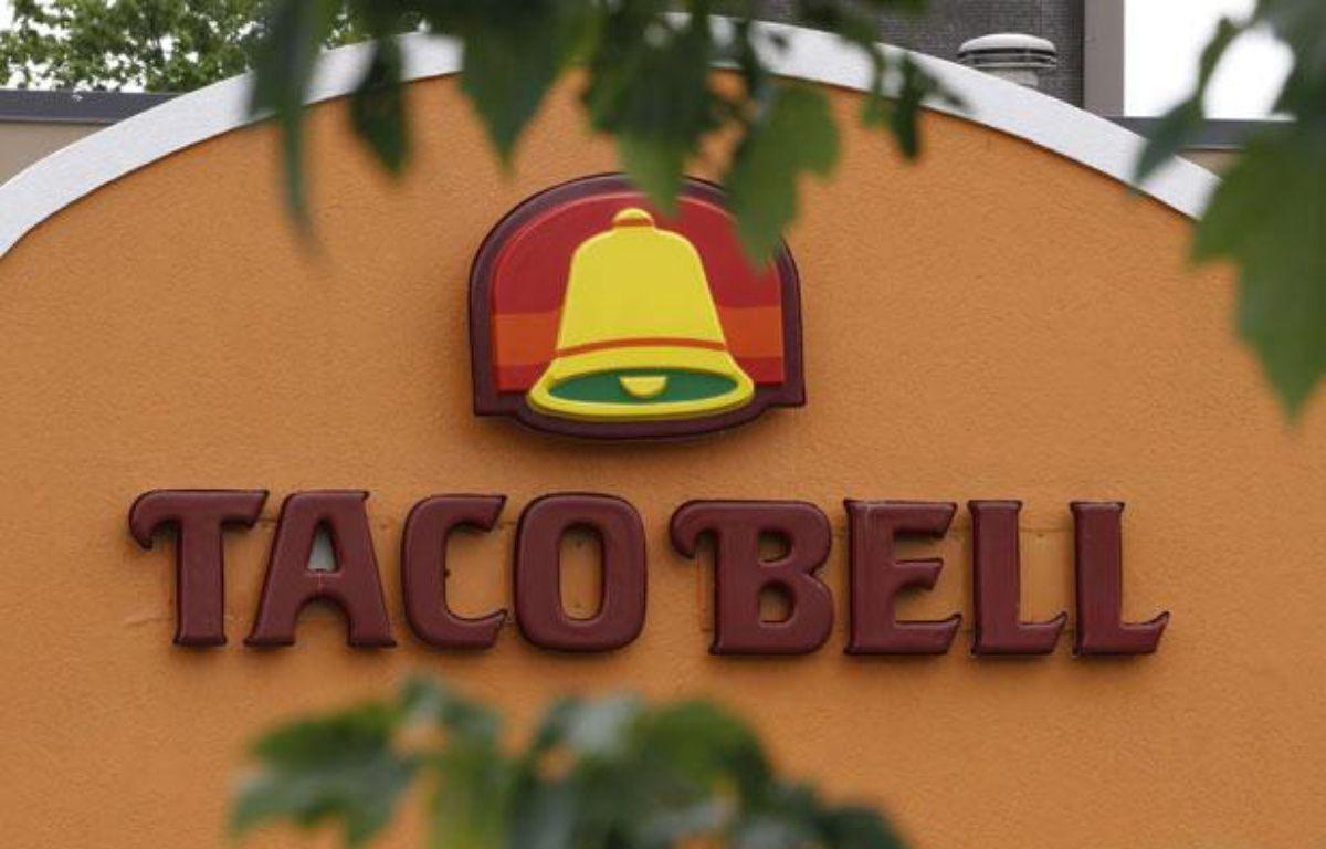 Illustration de la chaîne de restauration Taco Bell, le 31 août 2012 aux Etats-Unis. – Steve Helber/AP/SIPA