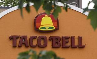 Illustration de la chaîne de restauration Taco Bell, le 31 août 2012 aux Etats-Unis.