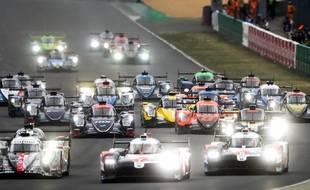 L'édition 2020 des 24 Heures du Mans avait eu lieu à huis clos, les 19 et 20 septembre.