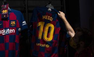 Les revenus de Lionel Messi s'élèvent à 126 milliards de dollars en 2020.