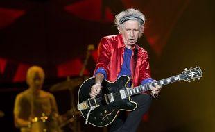 Le guitariste des Rolling Stones, Keith Richards, le 9 juin 2015.