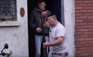Riverains en colère à Calais le 24 janvier 2016