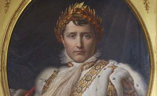 Portrait de Napoleon Bonaparte, par Francois Gerard, Museo delle Porcellane, Boboli Gardens, Florence, Italie