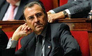 Le député UMP des Alpes-Maritimes Lionnel Luca, le 16 octobre 2012 à l'Assemblée nationale à Paris.
