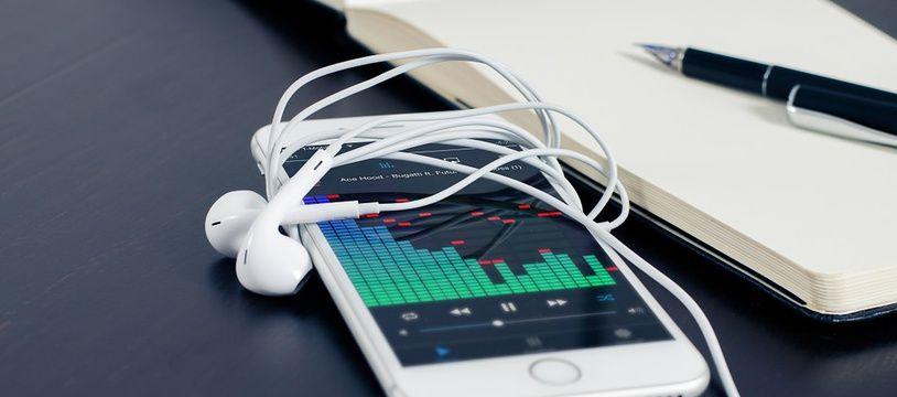 Musique en streaming (illustration).