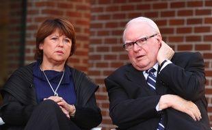 Martine Aubry et Pierre Mauroy, en septembre 2010.
