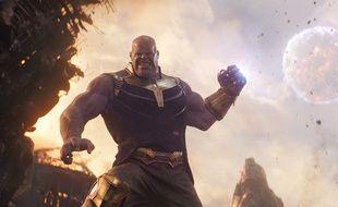 Josh Brolin dans Avengers: Infinity War de Joe et Anthony Russo