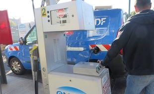 La première station-service au gaz a ouvert boulevard de la Marquette, à Toulouse.