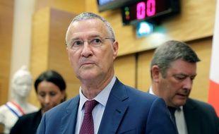 Patrick Strzoda, directeur de cabinet d'Emmanuel Macron, auditionné par la commission d'enquête de l'Assemblée dans le cadre de l'affaire Benalla, le 24 juillet 2018.