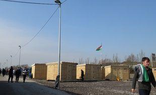 Le camp de migrants de Grande-Synthe (Nord)