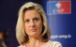 Valérie Rosso-Debord, députée UMP de Meurthe-et-Moselle, le 25 août 2011, à Paris.