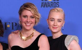Greta Gerwig et Saoirse Ronan ont été récompensées aux Golden Globes pour Lady Bird en 2018.