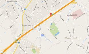 L'accident s'est produit au niveau de Courtrai, sur l'autoroute E17.