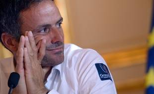 Franck Cammas à Paris en juin 2015.