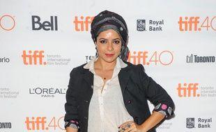 L'actrice indienne Rajshri Deshpande le 18 septembre 2015 à Toronto au Canada.