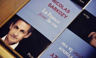 """Photo du livre """"La France pour la vie"""" de Nicolas Sarkozy postée le 21 janvier 2016 sur son compte twitter"""