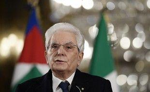 Sergio Mattarella, le 2 février 2021 à Rome.