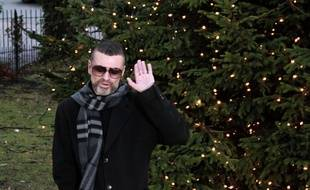Mandatory Credit: Photo by REX/Shutterstock  George Michael à Londres, le 23 décembre 2011.