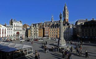 La Grand Place à Lille.