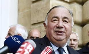 Le sénateur des Yvelines, Gérard Larcher, le 30 septembre 2014 à Paris