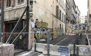 Certains immeubles de Marseille sont dans un état de délabrement très avancé.