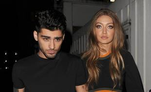 Le chanteur Zayn Malik et la top-modèle Gigi Hadid