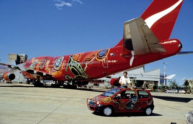 En 1994, un Boeing avait également eu droit au même relooking aborigène que la Twingo niçoise.