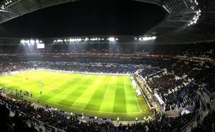 Le Stade des Lumières,  Lyon, en 2016