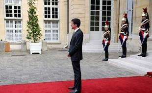 Manuel Valls à l'hôtel Matignon, le 9 juin 2015