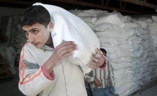 L'aide humanitaire a pu être acheminée pendant le premier cessez-le-feu de trois heures ce mercredi 7 janvier 2009 à Gaza.