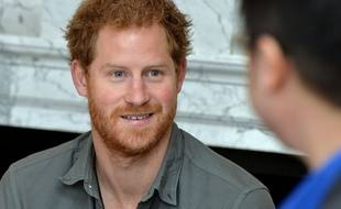 Le Prince Harry, le 16 march 2016, à Londres.