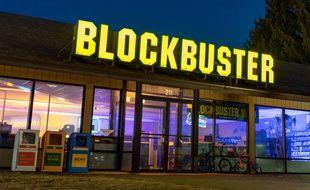 Le dernier magasin Blockbuster dans le monde, situé dans l'Oregon (Etats-Unis).